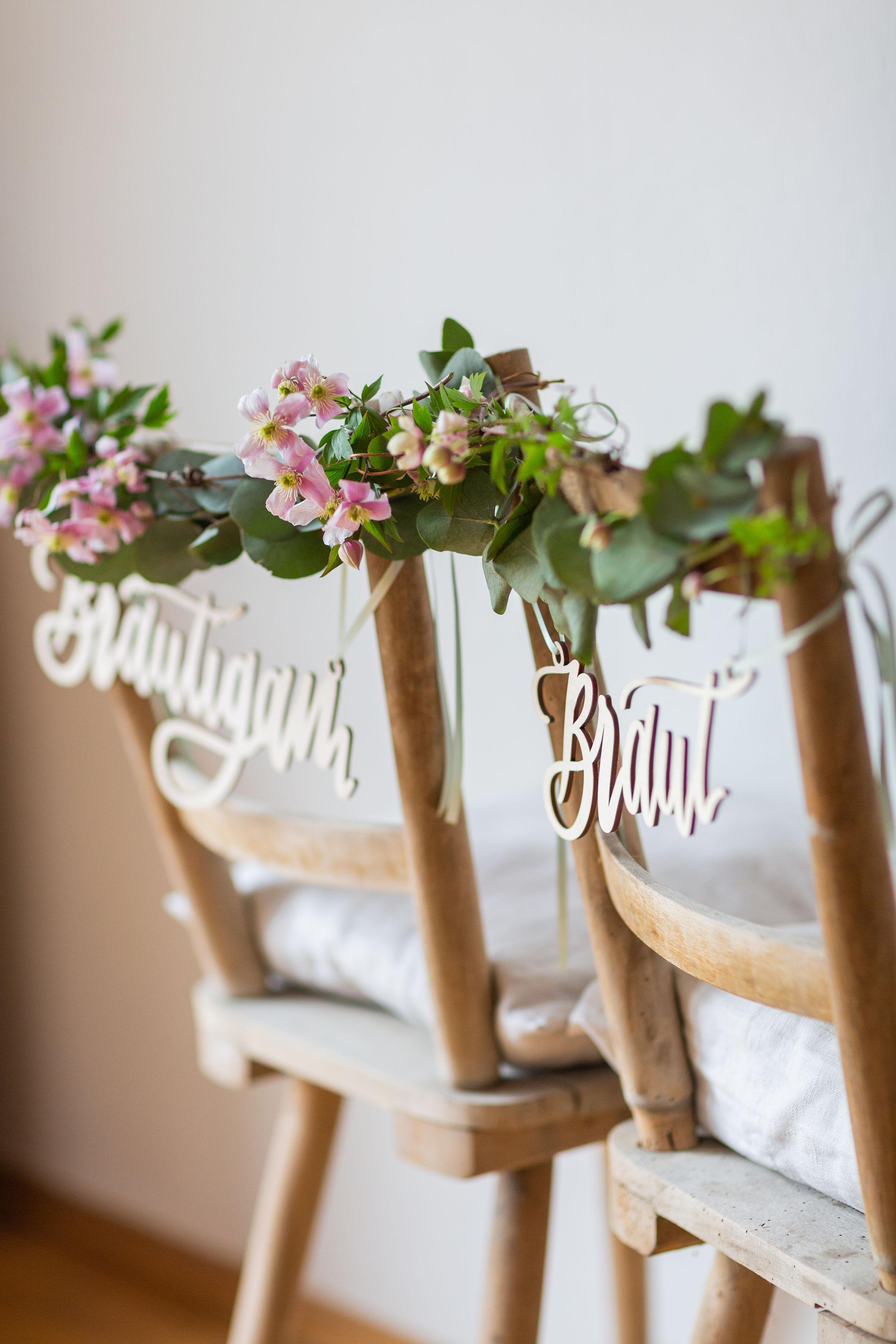 Braut Bräutigam wer sitzt wo,