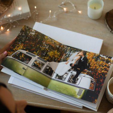 Die hochwertigen Hochzeitsfotobücher von Piktology