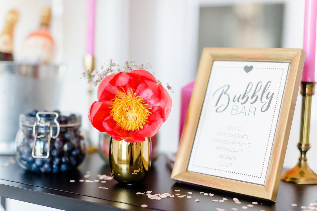Bubbly Bar Hochzeit