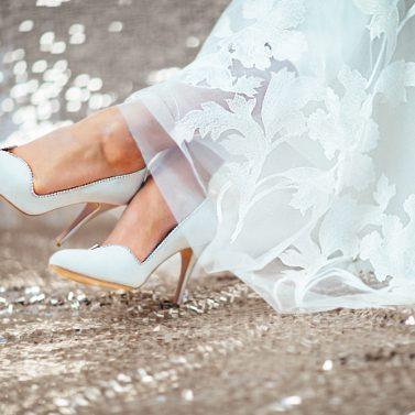 Handgefertigte Brautschuhe von selve munich Shoes