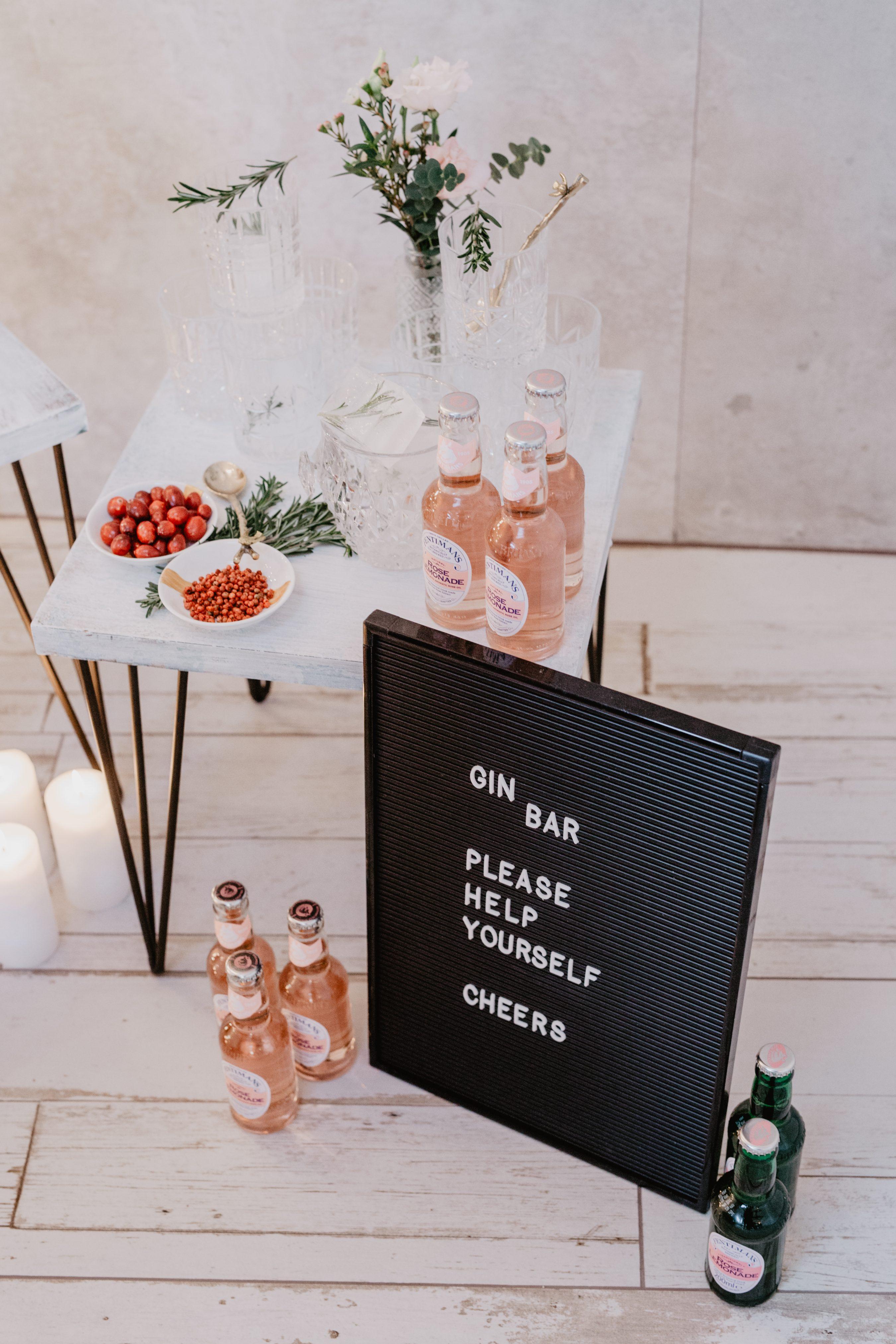 Gin Bar Hochzeit