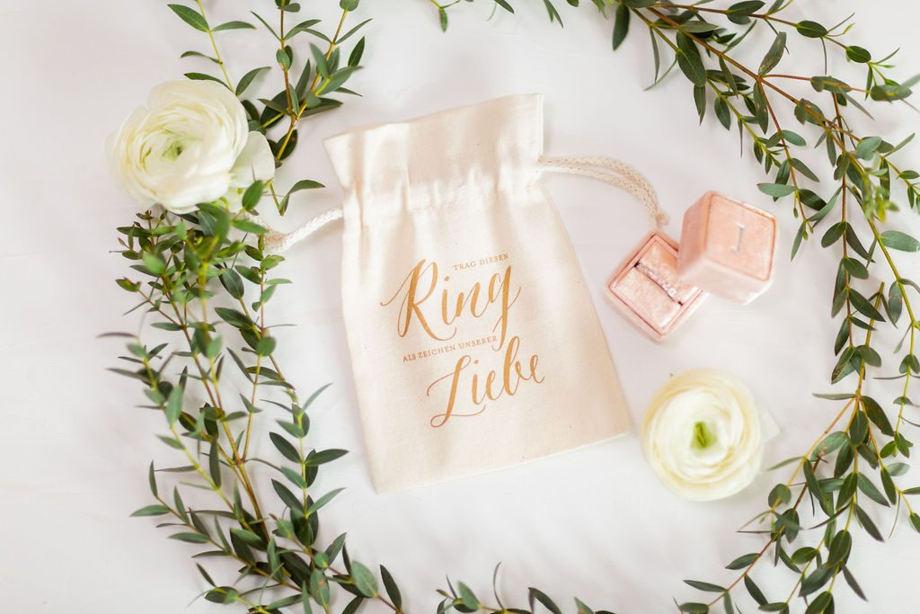 Ringbeutel Verlobungsring, Ringtasche Verlobungsring, Ringbeutel Hochzeit