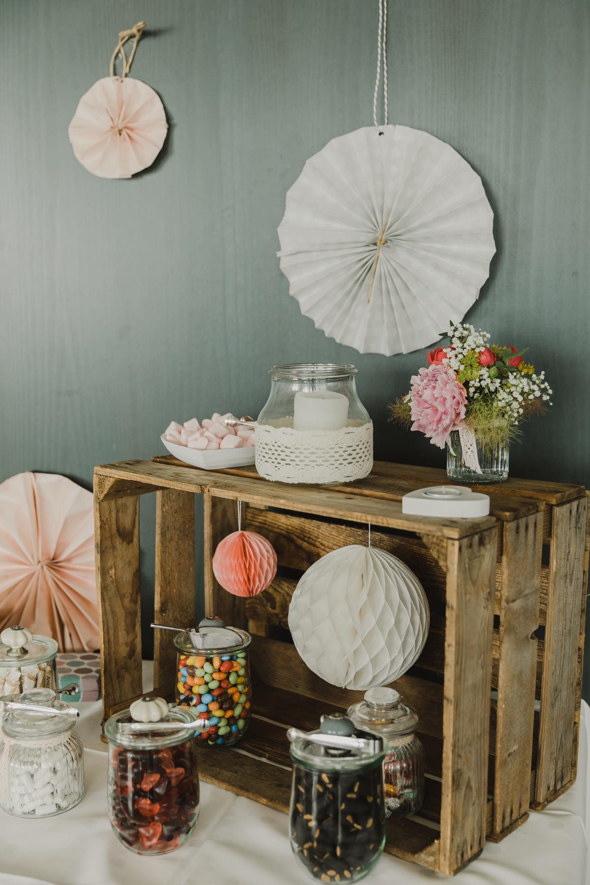 Candy Bar selber machen Hochzeit