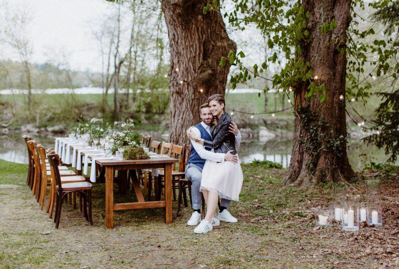 Outdoor Wedding: Ideen für eine Boho Hochzeit im Garten