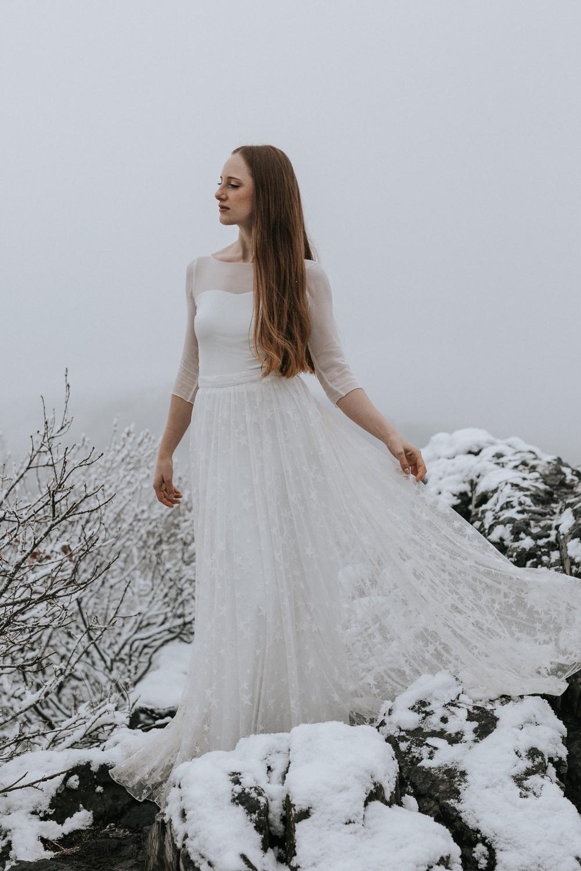 Brautkleid WInter, Brautkleid Herbst