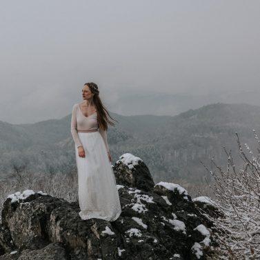 Brautkleider für Herbst und Winter von noni
