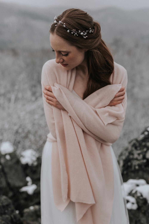 Brautkleid Stola für Winter und Herbst