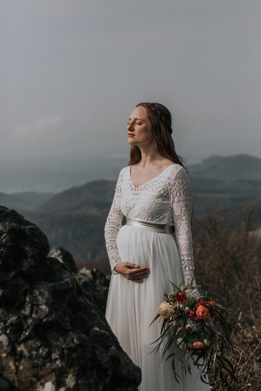 Brautkleid schwanger, Brautkleid Umstandsmode