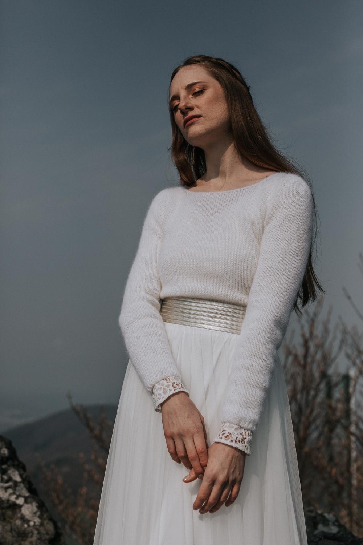 Brautkleid Pullover