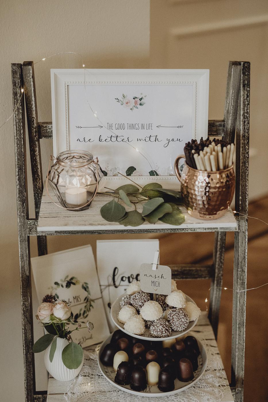 Sweet Table Hochzeit Schilder