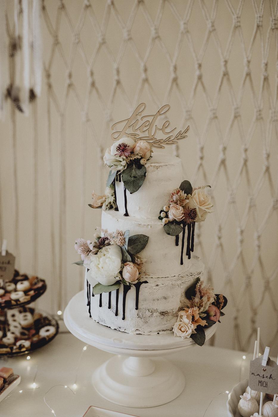 Cake Topper Hochzeit, Cake Topper Liebe, Hochzeitstorte Drip Cake, Cake Topper Drip Cake