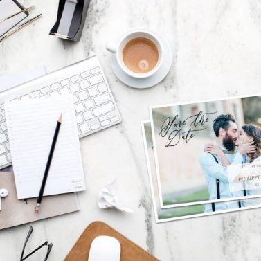 Kalligrafie Hochzeitskarten selbst gestalten in Canva