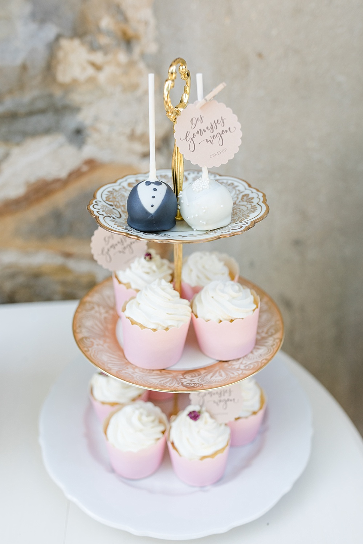 Cupcakes Etagere Hochzeit