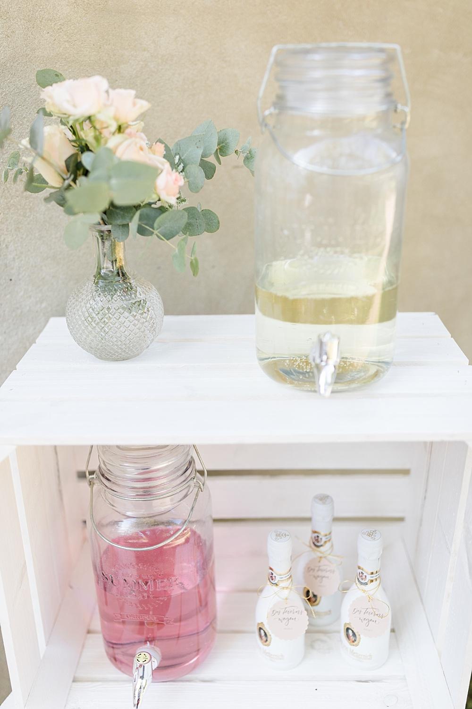 Getränkebar Limonade Hochzeit