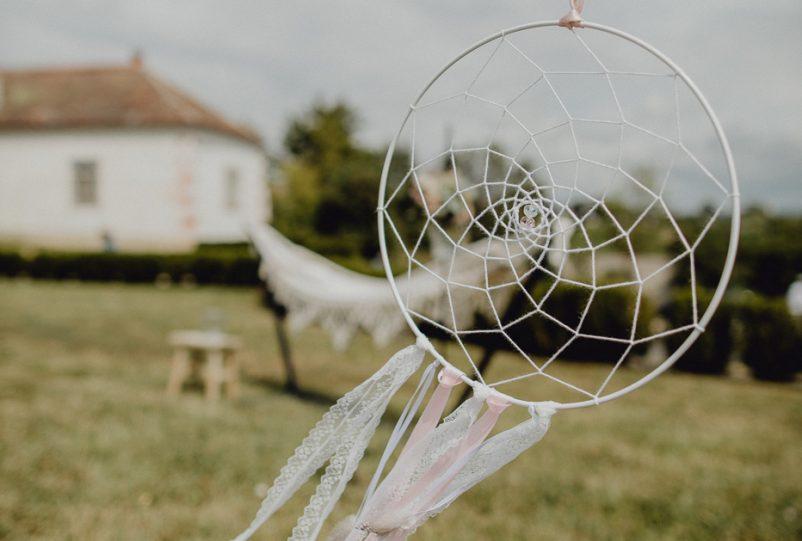 DIY Hochzeit: Traumfänger Selbermachen von Braut Hannah