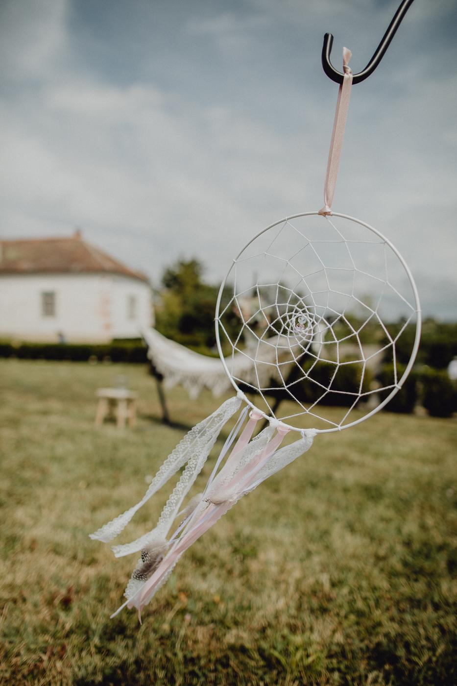 Traumfänger für Hochzeit selbermachen
