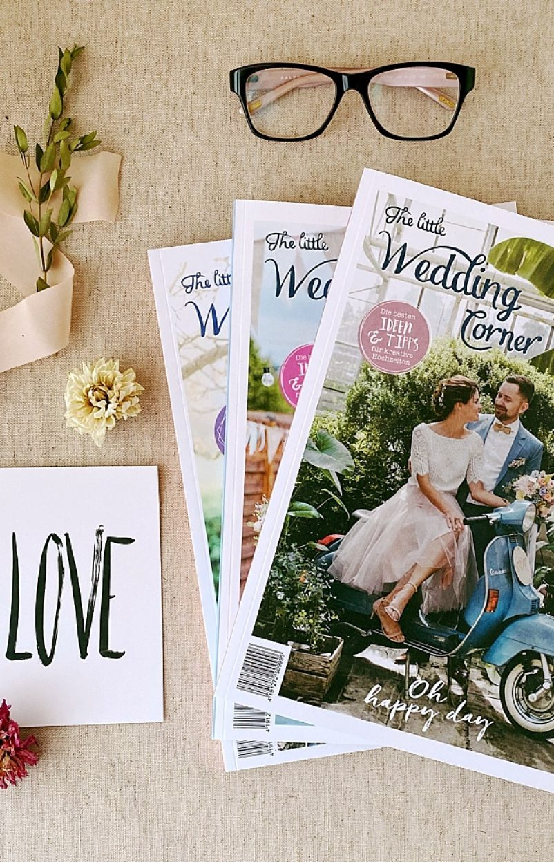 Das Hochzeitsmagazin Triple Bundle 2020 in liebevoller Geschenkverpackung