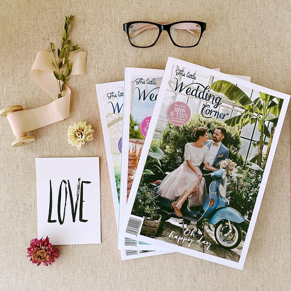 Hochzeitsmagazin. Verlobungsgeschenk, Weihnachtsgeschenk für Verlobte, Geschenk zur Verlobung, die schönsten Hochzeitsmagazine