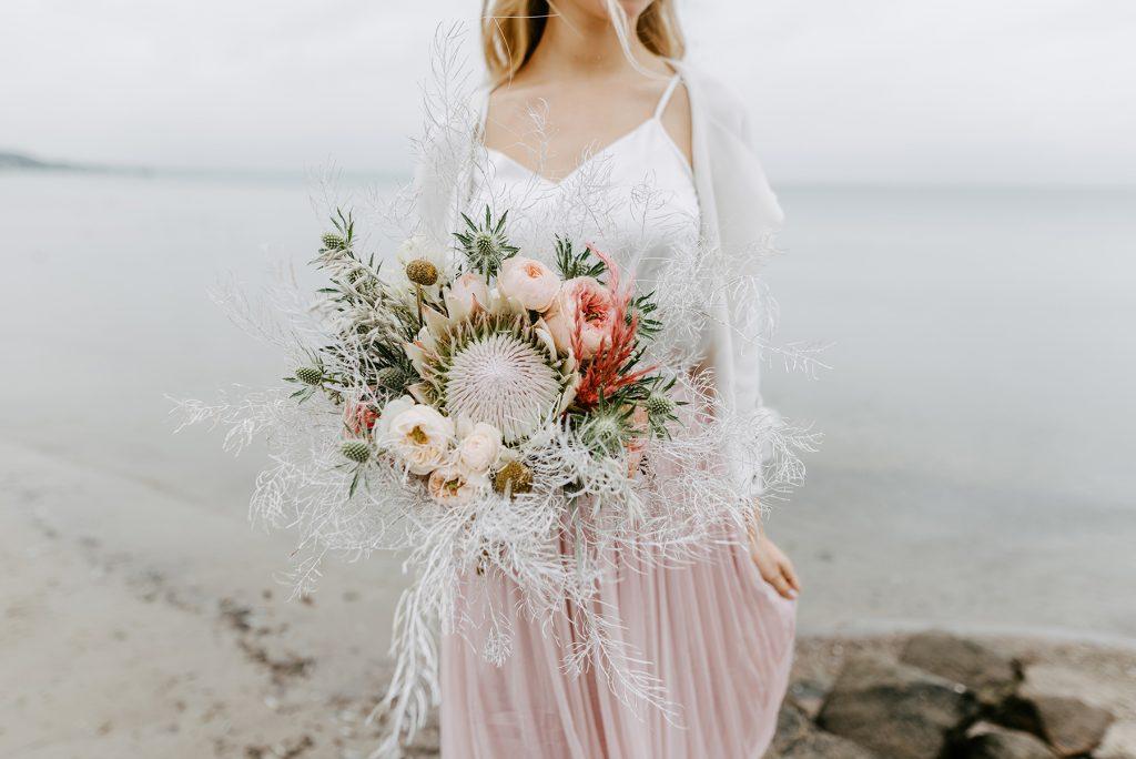 Brautstrauß Strandhochzeit