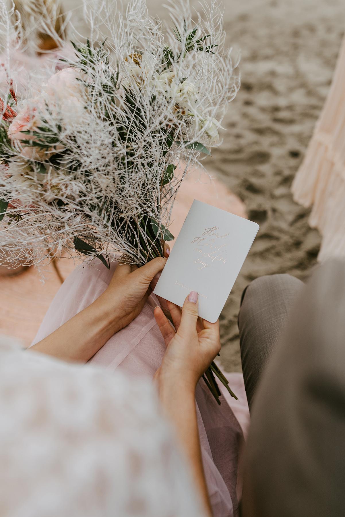 Eheversprechen Büchlein hand in Hand ein Leben lang