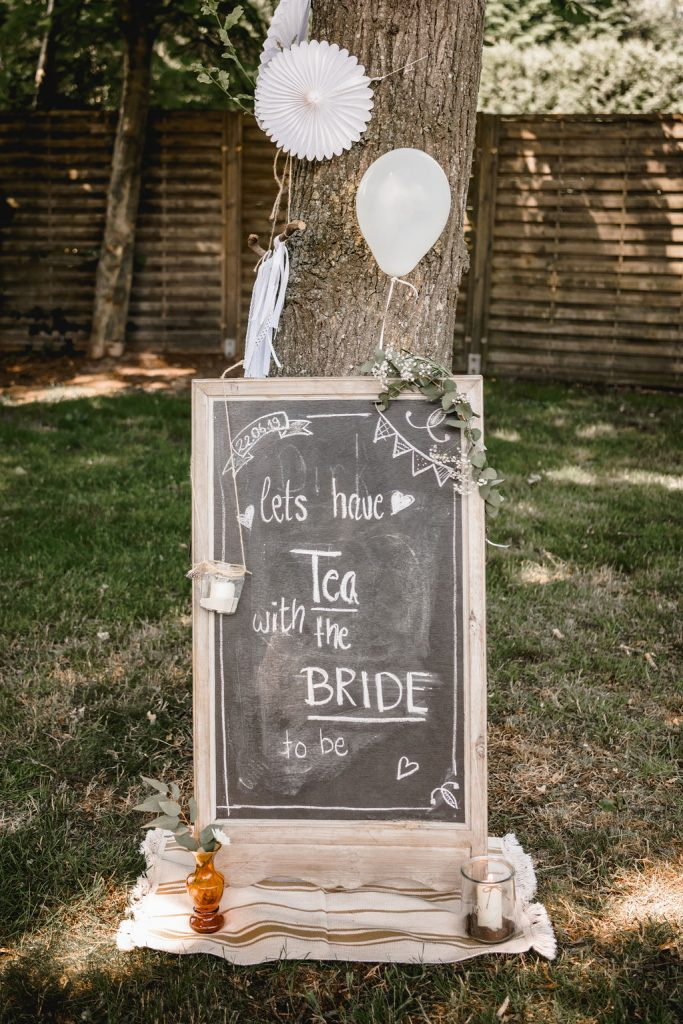 Brautparty als Junggsellinnenabschied, Ideen für den Junggesellinnenabschied, Tea Party als Junggesellinnenabschied, BRidal Shower