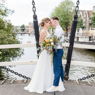 Industrial Wedding: Heiraten in Amsterdam