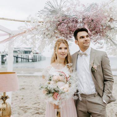 Heiraten an der Ostsee: Tipps & Ideen für eine Boho Strandhochzeit mit Beach Chic