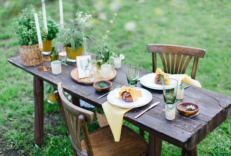 Green Wedding Ideen: Eine nachhaltige Kräuterhochzeit