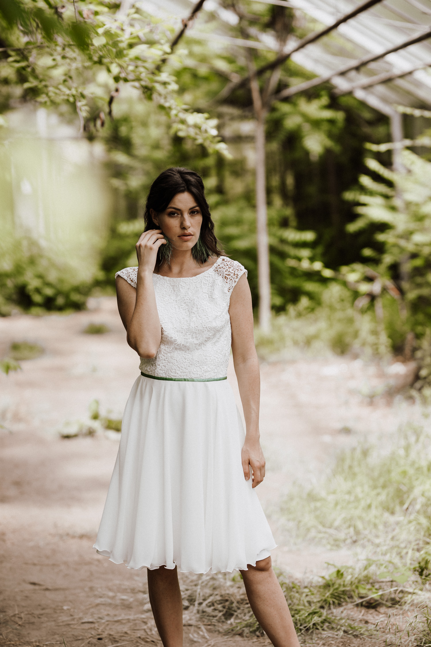 Brautkleid Standesamt kurz, Brautkleid Sommerhochzeit kurz, Brautkleid kurz, Brautkleid kurz Spitze