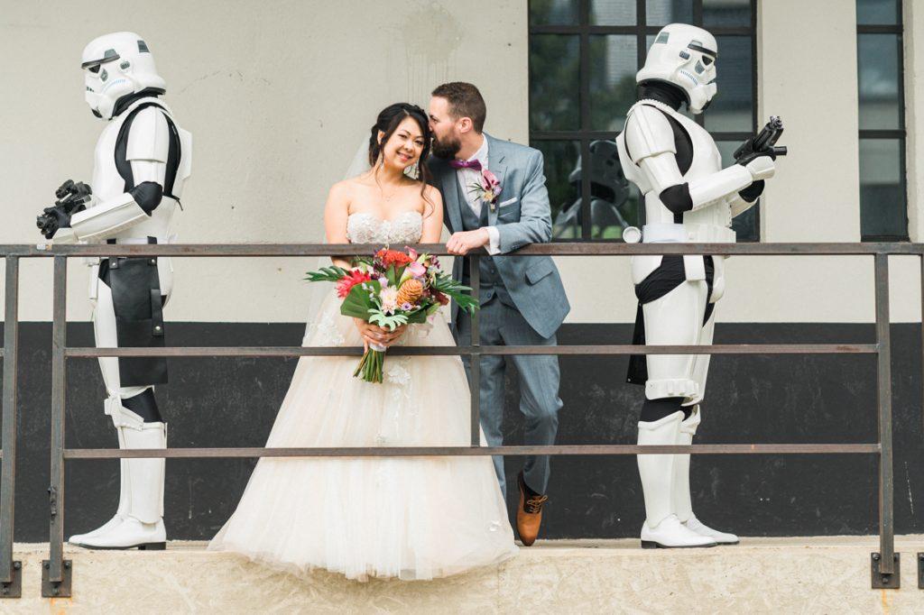 Star Wars Hochzeit, Stormtroopers Hochzeit