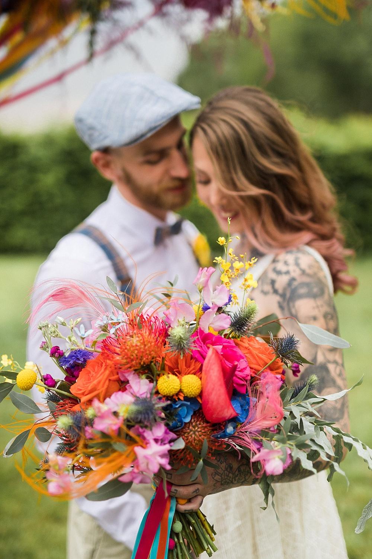 Festival Hochzeit, Hippie Hochzeit