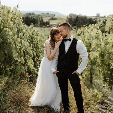 Vineyard Wedding: Eine rustikale Hochzeit auf dem Weingut
