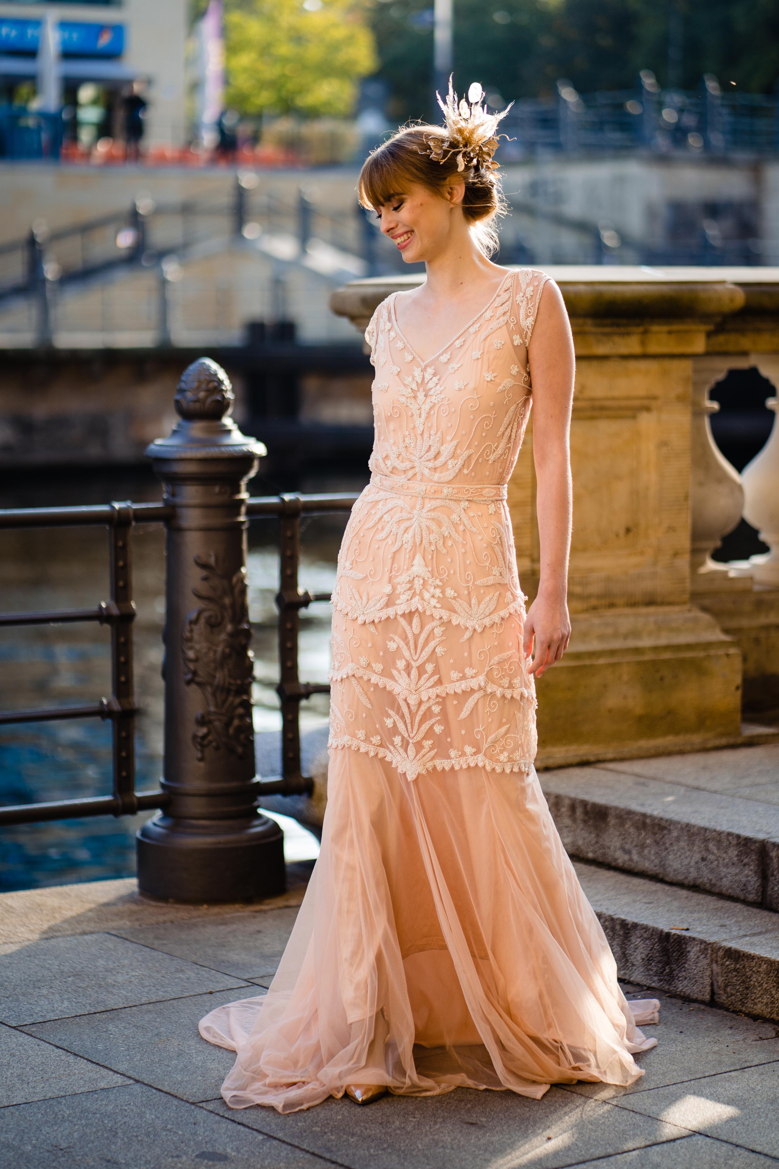 Brautkleider für die goldenen Zwanziger von TILDA KNOPF