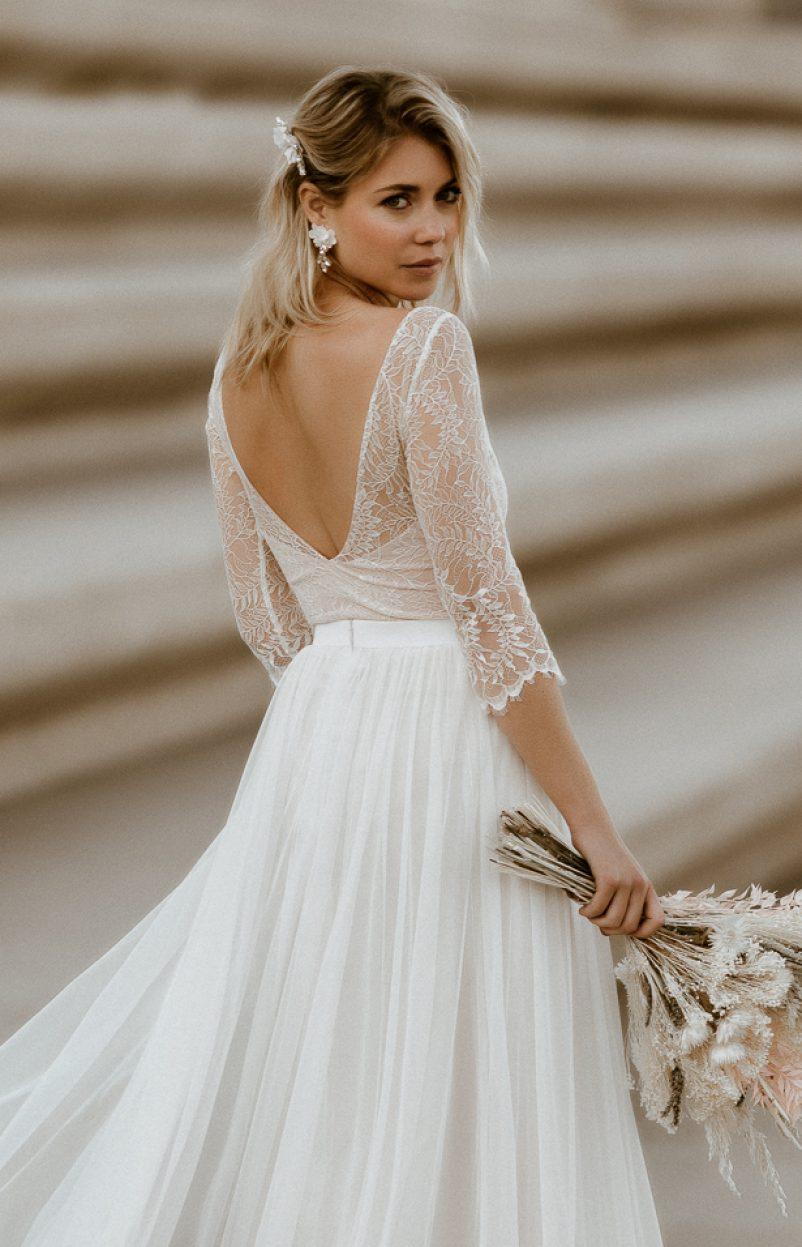Urbaner Schick für die moderne Braut: Die noni Brautkleider Kollektion 2021