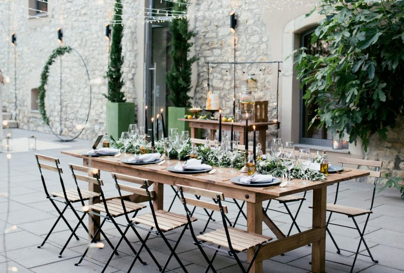 Mediterran heiraten in Deutschland: Eine Oliven Hochzeit auf dem Weingut