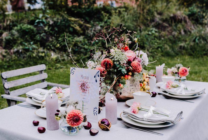 Nachhaltig Heiraten: Eine Eco Herbsthochzeit auf dem Resthof
